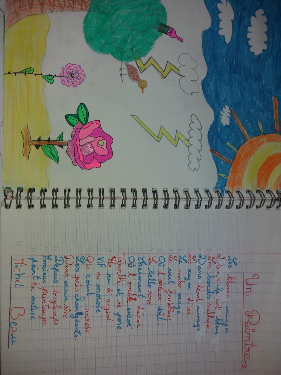 dessin poésie 2 Clémence